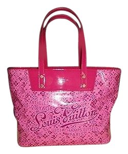 Louis Vuitton Fuschia Patent Tote Excellent Shoulder Bag