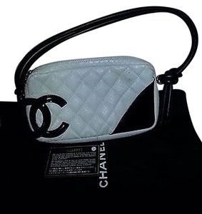Chanel Cambon Snakeskin Shoulder Bag
