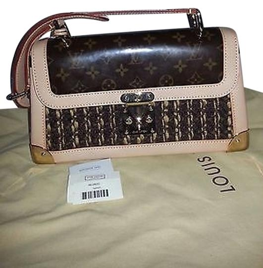 Louis Vuitton Limited Edition Tweedy With Shoulder Bag