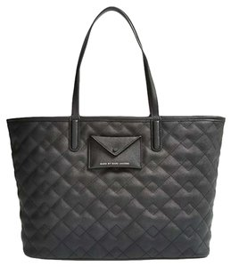 Marc by Marc Jacobs Quilted M0005489 Nwt New With Tags Leather Duster Tote in Black