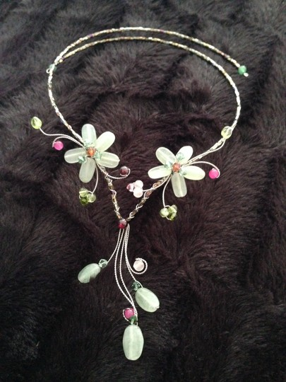 Other Flower Necklace Natural Stones Image 1