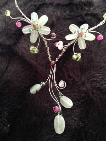 Other Flower Necklace Natural Stones Image 2