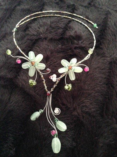 Other Flower Necklace Natural Stones Image 3