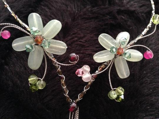 Other Flower Necklace Natural Stones Image 4