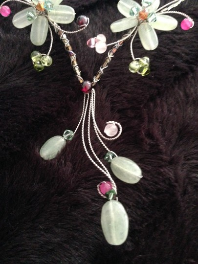 Other Flower Necklace Natural Stones Image 5