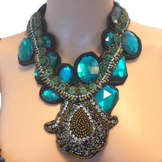 Preload https://item3.tradesy.com/images/teal-necklace-5513362-0-4.jpg?width=440&height=440