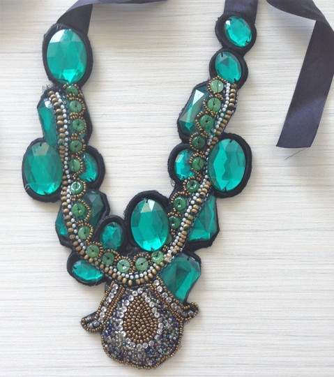 Other Teal Necklace