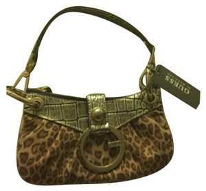 Guess By Marciano Leopard Clutch