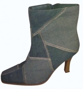 Bamboo Trading Company denim Boots
