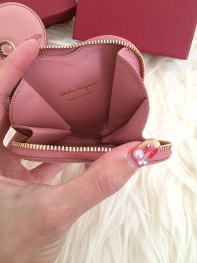 Salvatore Ferragamo BNIB Auth Salvatore Ferragamo Heart Shape Coin Purse