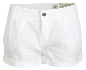 AllSaints Devon Linen Booty Mini/Short Shorts Optic White