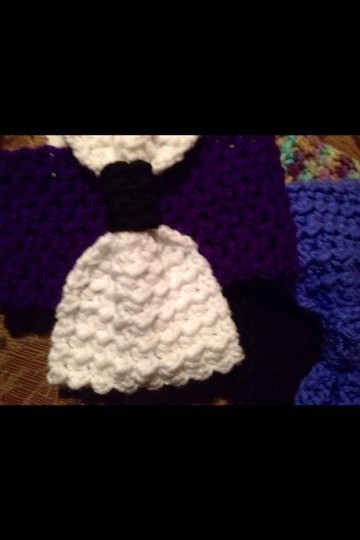 crochet by me Ear Warmer/turban/headband-wrap Bow Headband