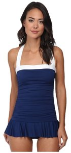 Ralph Lauren Ralph Lauren Bel Aire Slimming Shirred Bandeau Skirted