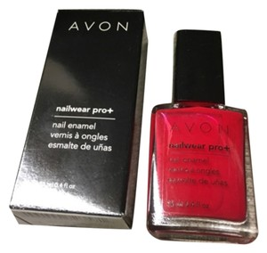 Avon AVON NAIL WEAR PRO+ SIZZLING RED NAIL ENAMEL IN BOX