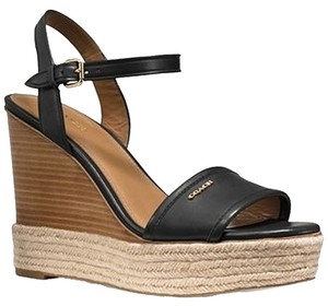 Coach BLACK/BLACK Wedges