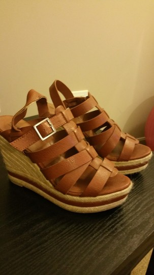 Mossimo Supply Co. Tan Wedges