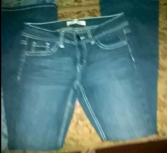 2 pairs pants Denim Shorts-Medium Wash