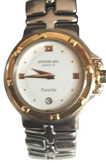 Preload https://item4.tradesy.com/images/raymond-weil-18kt-gold-and-stainless-steel-vintage-parsifal-ladies-watch-5516098-0-2.jpg?width=440&height=440