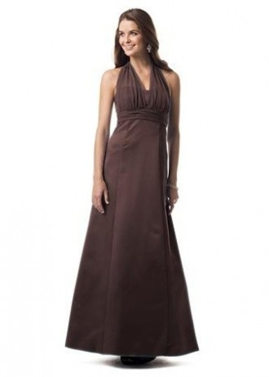 Preload https://item4.tradesy.com/images/david-s-bridal-brown-satin-81441-formal-bridesmaidmob-dress-size-6-s-55163-0-0.jpg?width=440&height=440