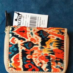 XOXO Xoxo Bright Fabric Print Wallet
