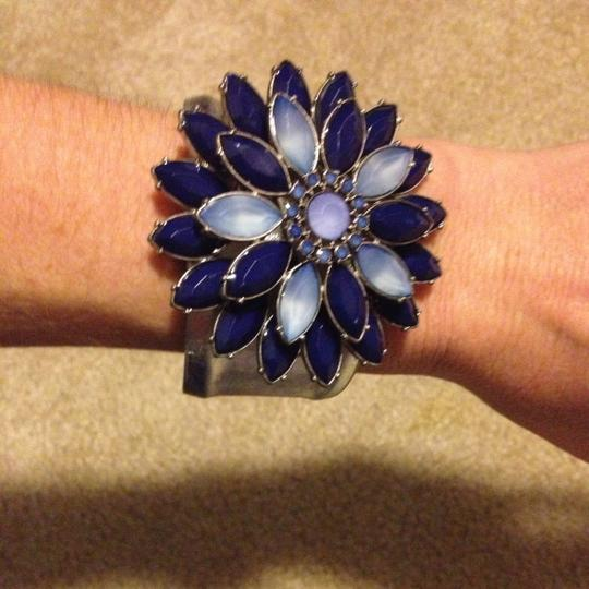 Other Blue Flower Cuff