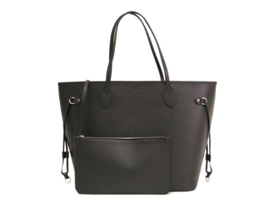 Louis Vuitton Neverfull Mm Epi Stock014650 Tote in Noir