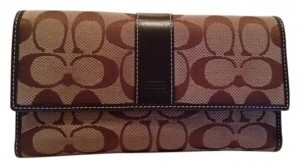 Coach Large Signature Coach Wallet
