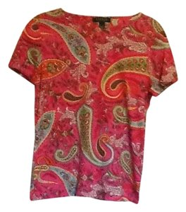 Lauren by Ralph Lauren Top Paisley