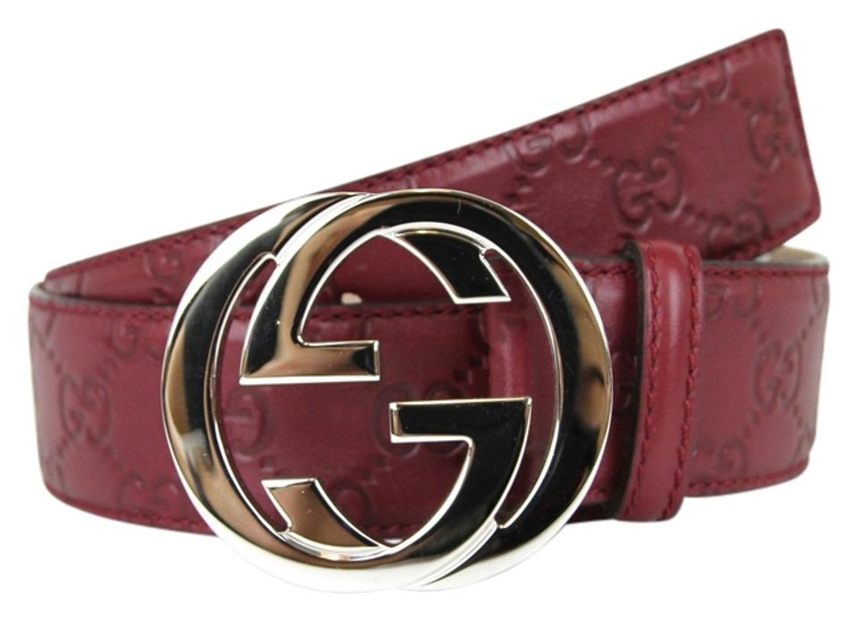 825f6bc3e1c Gucci GUCCI Mens Guccissima Leather Belt w Interlocking G Buckle Image 0 ...