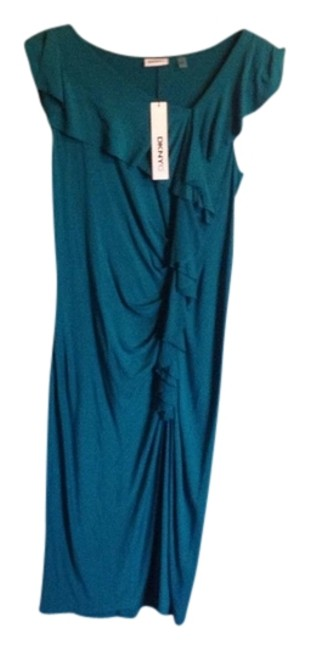 Green Maxi Dress by DKNY Shift Turquoise