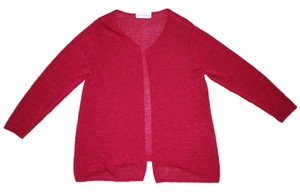 Motherhood Maternity Cranberry Red Thin Knit Layering Sweater