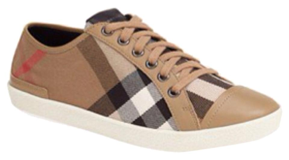 burberry athletic check print sneaker size 10 burberry