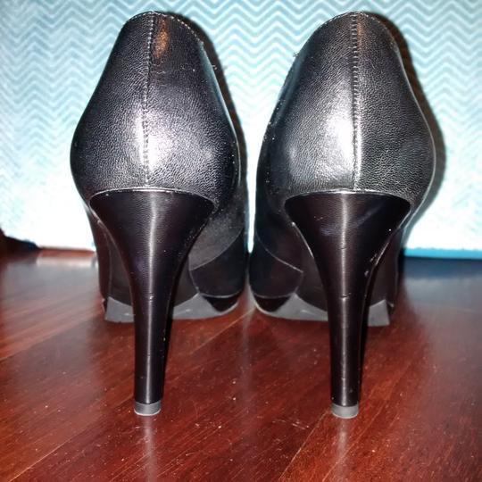 Franco Sarto Basic Staple Black Pumps