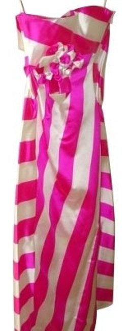 Preload https://item3.tradesy.com/images/valentino-pink-and-ivory-stripes-cocktail-dress-size-4-s-552-0-0.jpg?width=400&height=650