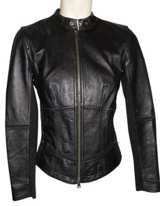 INC International Concepts Leather Motorcycle Jacket