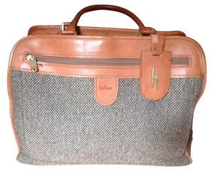 Hartmann Rare Vintage Tweed Brown Travel Bag