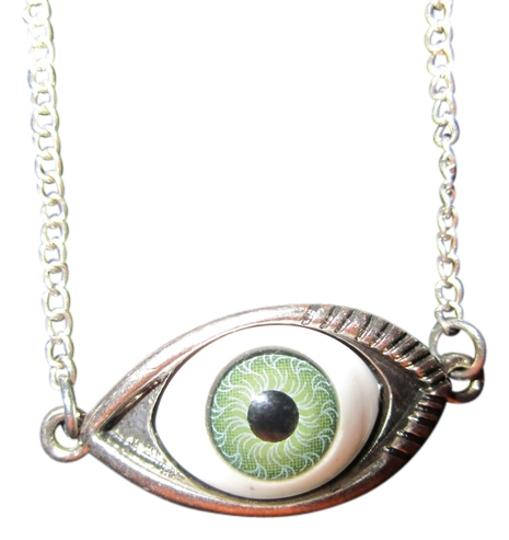 Other Green Eye Necklace