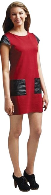 Preload https://img-static.tradesy.com/item/5521237/mudpie-red-with-black-trim-mudpiemadeline-shift-short-casual-dress-size-12-l-0-0-650-650.jpg