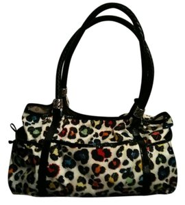 Brighton Smoke Free Home Multicolor Tote in Multicolored print