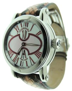 Tourneau Tourneau Gotham MOP Mid-size Stainless Steel Analog Automatic Watch Paper