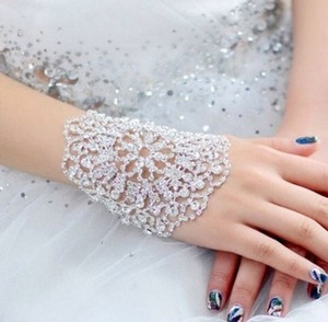Beautiful Rhinestone Wedding Bracelet