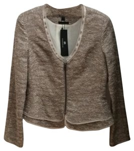 Banana Republic Peplum Longsleeve Fall Classic Evening Metallic Blazer