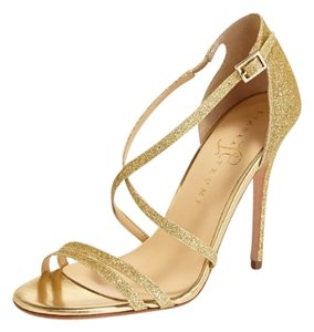 Ivanka Trump Gold Sandals