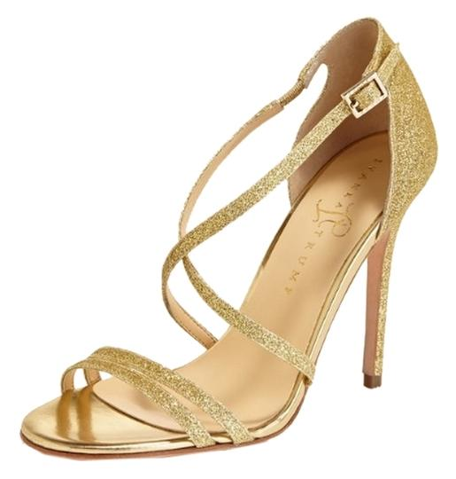 Preload https://img-static.tradesy.com/item/5522095/ivanka-trump-gold-strappy-glitter-sandals-size-us-85-0-0-540-540.jpg