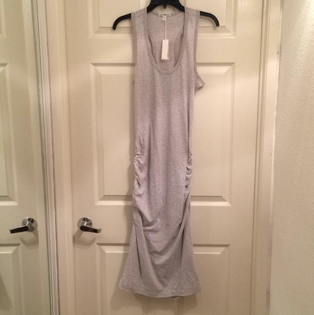 Gray Maxi Dress by James Perse Striped Racerback Midi