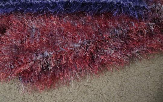 NOW AND ZHEN * FAUX FUR SCARVES NOW AND ZHEN * SCARVES * SHADES OF ROSE, VIOLET AND SILVER