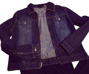 New York & Company Denim Blazer