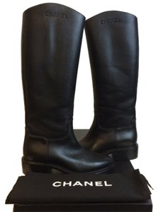 Chanel Blac Boots