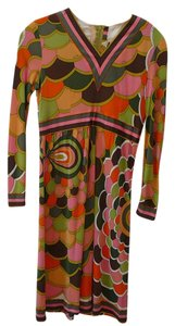 Emilio Pucci short dress multicolored Chanel 38 Pucci 10 Pucci Vintage Pucci on Tradesy
