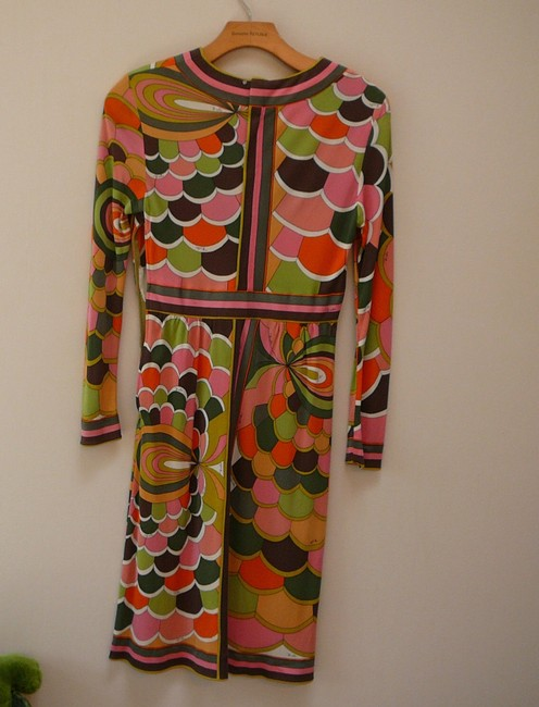 Emilio Pucci short dress multicolored Chanel 38 10 Vintage on Tradesy